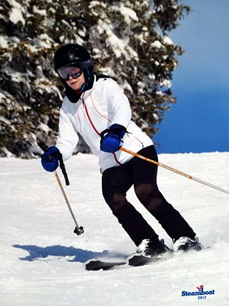 Ana C. Anderson Ph.D. Skiing